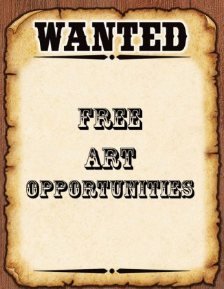 Free Art Opportunities